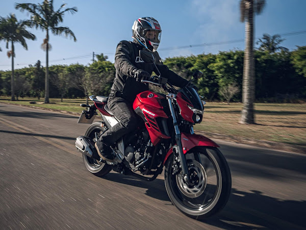 Yamaha Fazer FZ25 ABS 2022: preços, fotos e ficha técnica